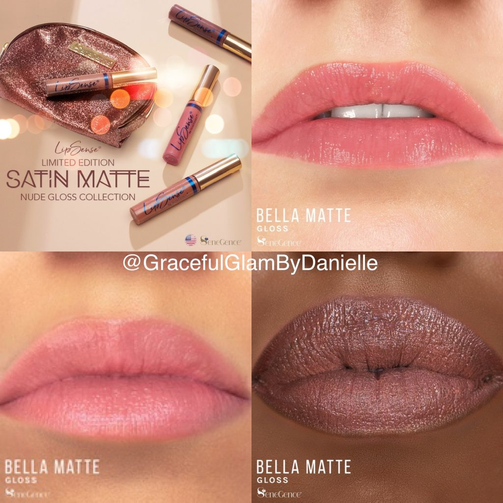 Bella Matte Gloss from the Satin Matte Nude Gloss Collection by SeneGence