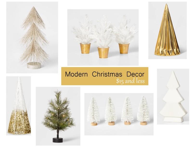 Modern Christmas Decor