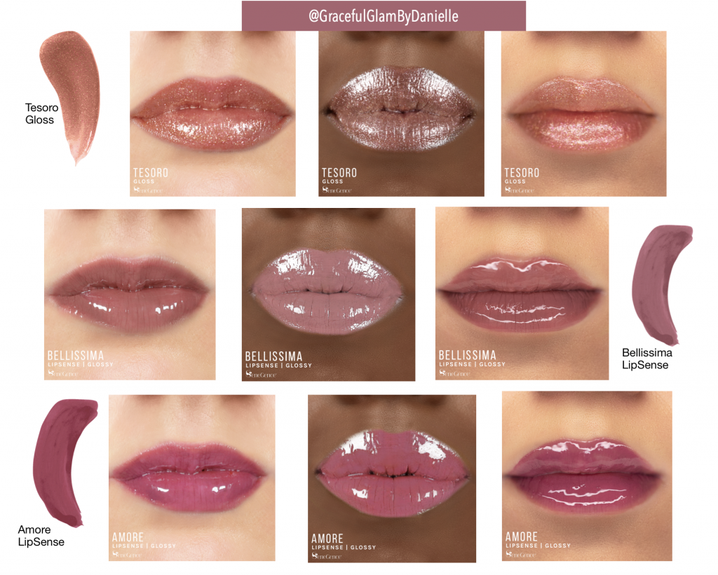LipSense Amore Collection Swatches